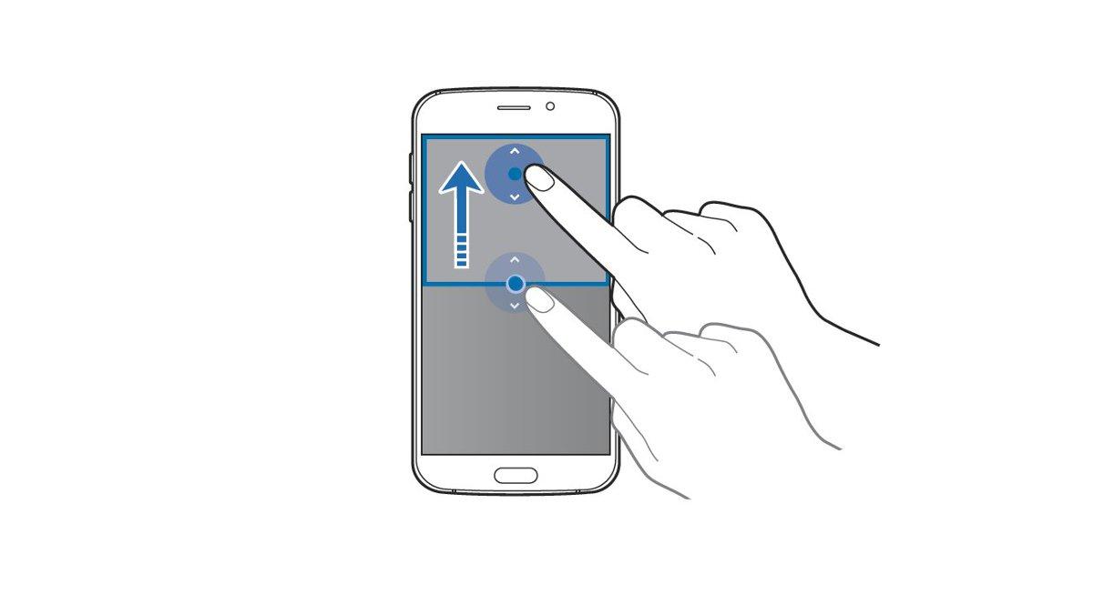 Galaxy S6 - Split Screen - Adjust Window Size