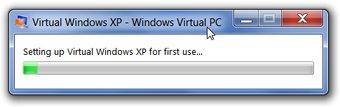 Setting Virtual Windows XP
