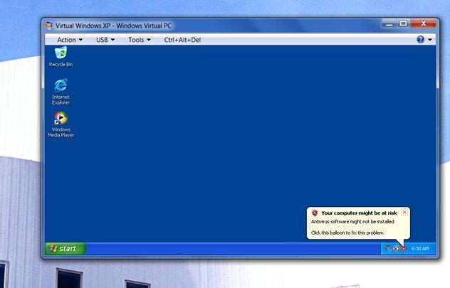 Virtual Windows XP
