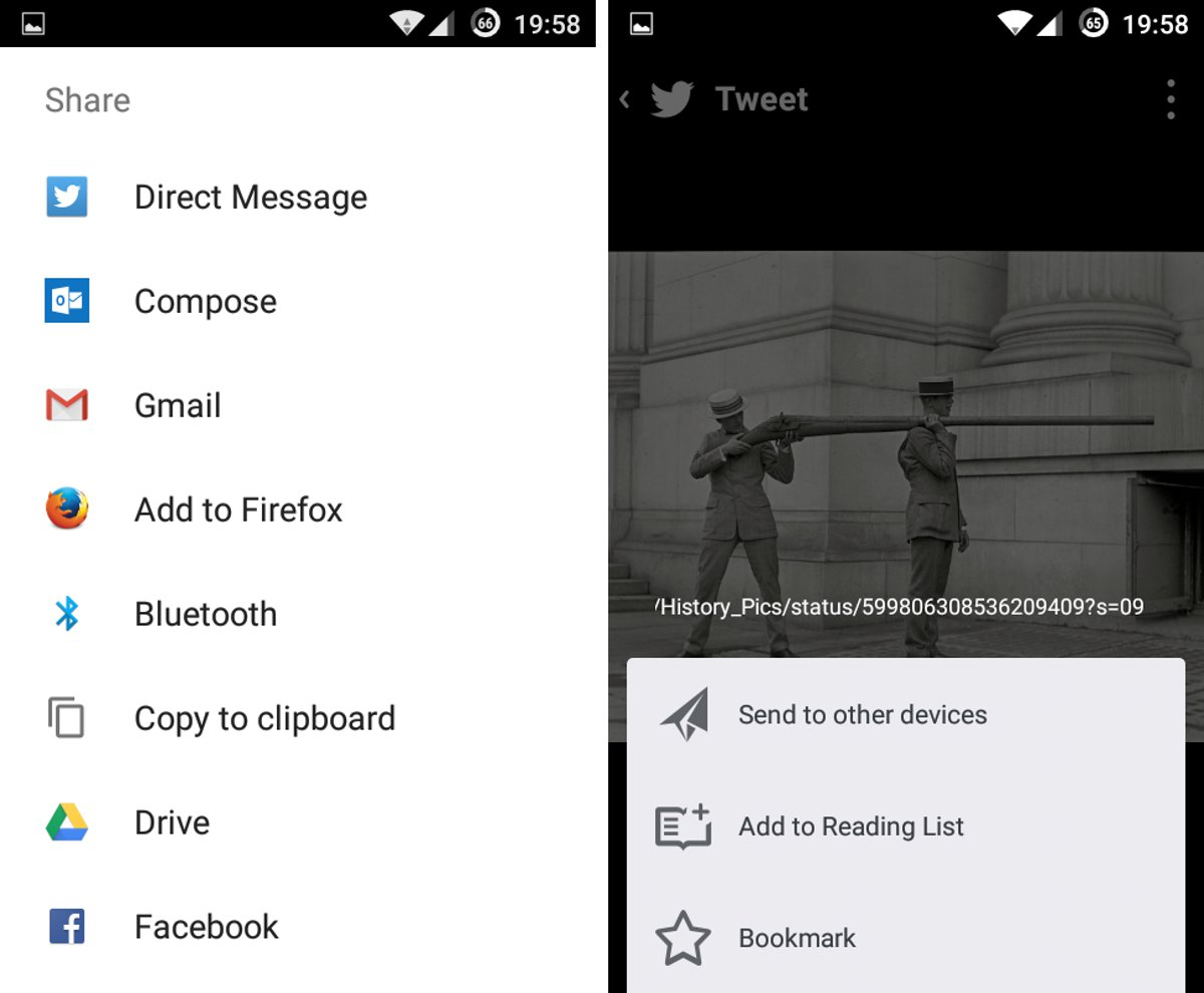 Add To Firefox - Share Option In Android