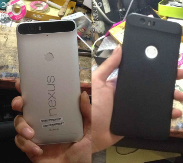 Huawei Nexus - With & Without Protective Cover