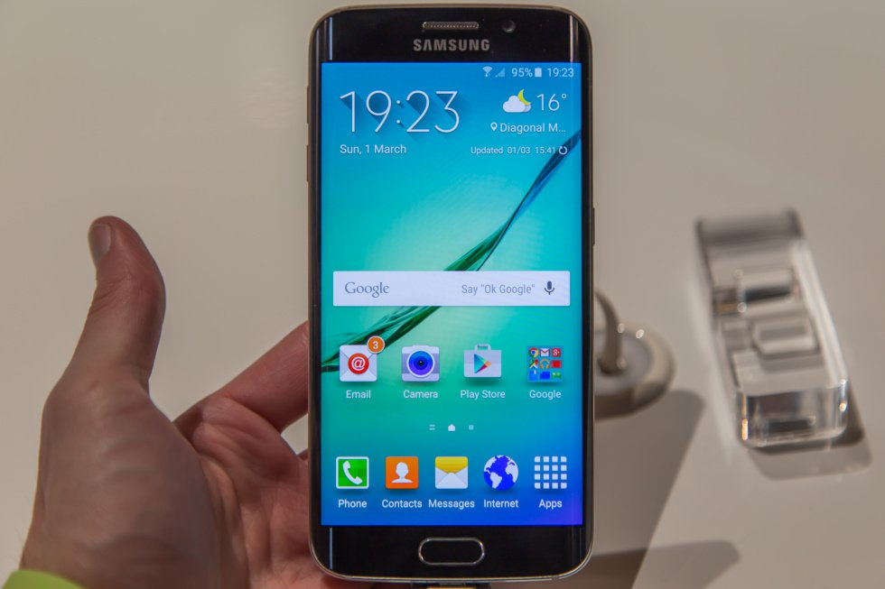 Samsung Galaxy S6 Edge - Hands On - Prime Inspiration