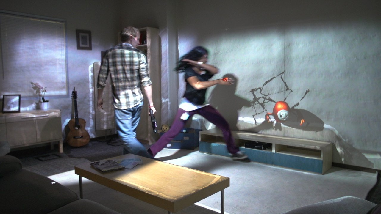 Microsoft RoomAlive Turns Your Room Into Video Game Level
