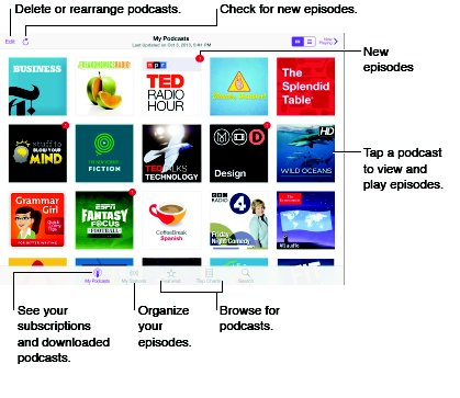 How To Use Podcasts - iPad Mini 2