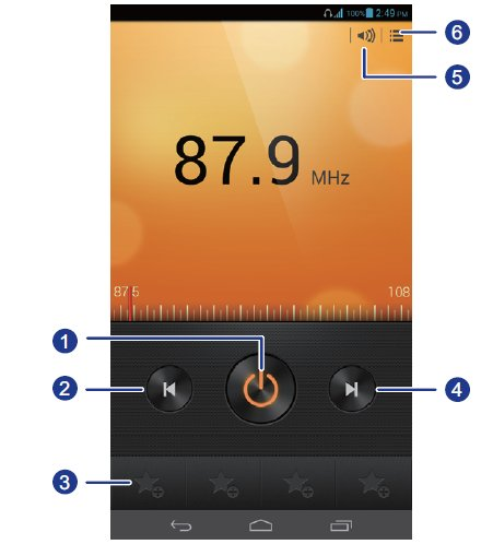 How To Use FM Radio - Huawei Ascend Mate