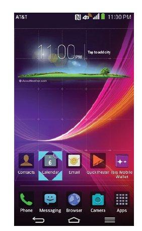How To Customize Home Screen - LG G Flex - Prime Inspiration