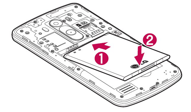 How To Insert Battery - LG G3