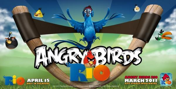 Angry Birds Rio Games For Tablets And Phones In March
