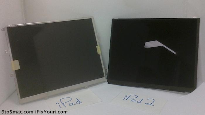 Rumor - Apple iPad2 display leaked