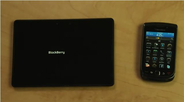 RIM Blackberry PlayBook Video