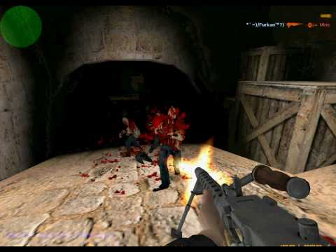 Survive In Counter Strike 1.6 On Zombie Infection Mode