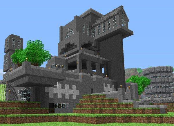 make a huge house in minecraft prime inspiration. Black Bedroom Furniture Sets. Home Design Ideas