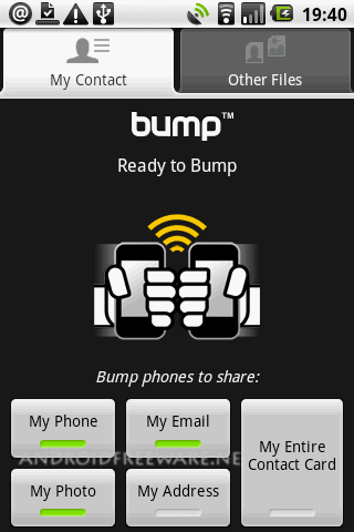 Use Bump For Android