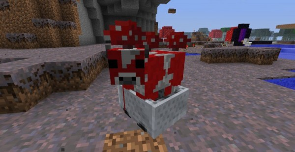Minecraft Mobs: Mooshroom