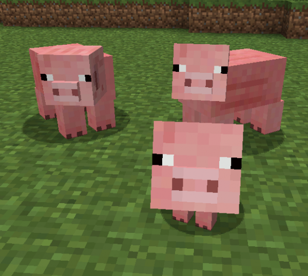 Image result for minecraft pig