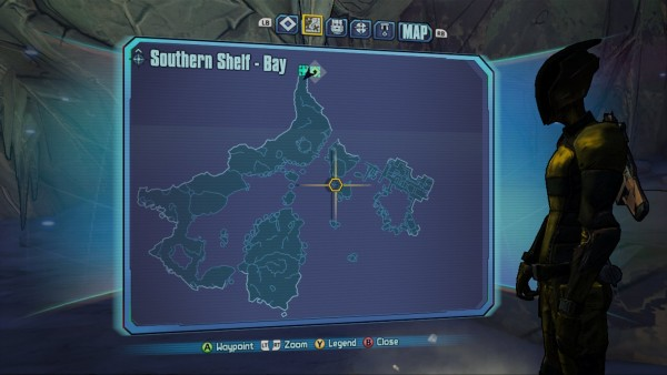 Borderlands 2 Southern Shelf Bay Map
