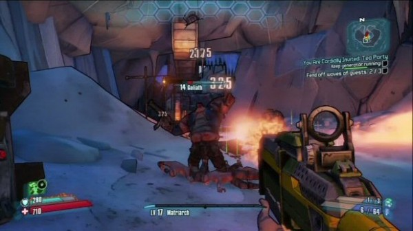 Borderlands 2 You Are Cordially Invited: Tea Party Walkthrough