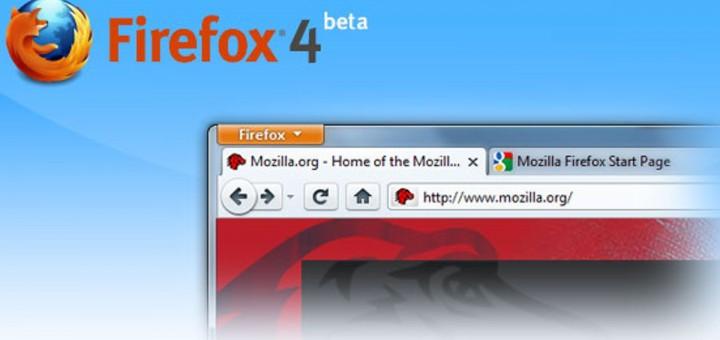 Firefox 4 - Beta