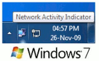 Windows Vista/7 - Display Useful Data With The Network Icon In The System Tray