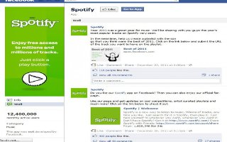Use Spotify With Facebook