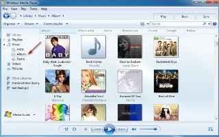 Add An Album To Windows Media Player