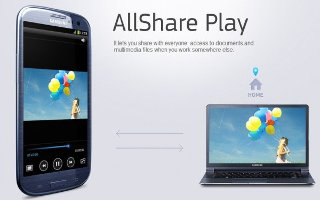 You can customize the AllShare Play setting on your Samsung Galaxy S3. Follow the simple steps below. In the application list, select AllShare Play.