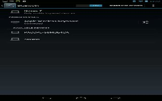 How To Connect To Bluetooth Devices On Nexus 7