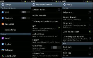 How To Customize Display Settings On Samsung Galaxy S3