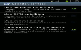 How To Customize Location Services On Samsung Galaxy S3