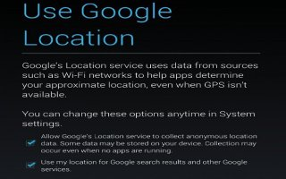 How To Use Control Location Reporting And History On Nexus 7