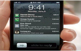 How To Use Notifications On iPhone 5