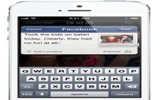 How To Use Sharing On iPhone 5