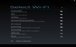 How To Forget A Wi-Fi Network On Nexus 7