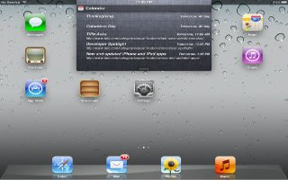 How To Use Notifications On iPad