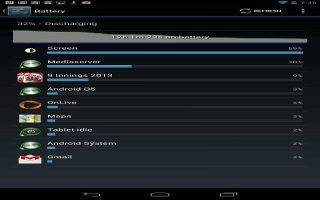 How To Optimize Battery Life On Nexus 7