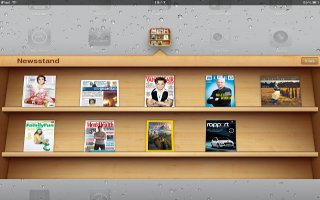 How To Use Newsstand On iPad