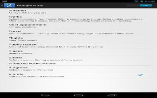 How To Use Search Settings On Nexus 7