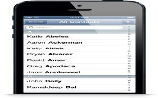 How To Use Contacts On iPhone 5