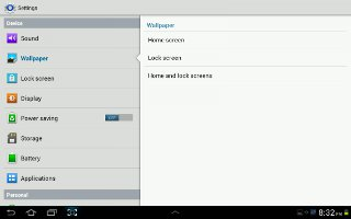 How To Use Wallpapers On Samsung Galaxy Tab 2