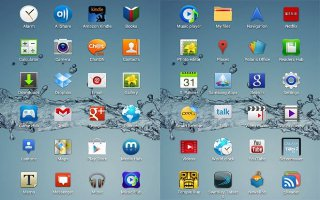 How To Use Apps Screen On Samsung Galaxy Tab 2