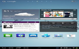 How To Customize Home Screen On Samsung Galaxy Tab 2