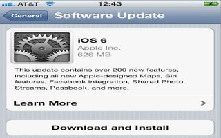 How To Update Software On iPhone 5