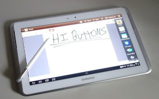 How To Use Handwriting Feature On Samsung Galaxy Tab 2