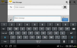 How To Use Messages On Samsung Galaxy Tab 2