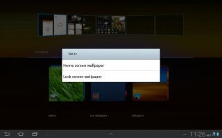 How To Set Picture As Wallpaper On Samsung Galaxy Tab 2