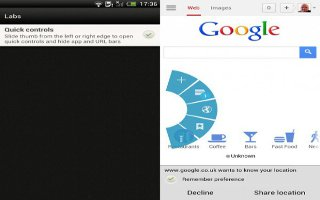 How To Use Internet Quick Controls On Samsung Galaxy Tab 2