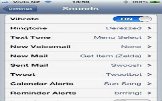 How To Customize Sound On iPhone 5