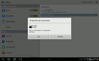 How To Use Bluetooth On Samsung Galaxy Tab 2