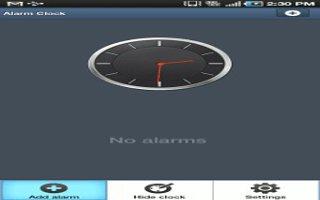 How To Use Alarm On Samsung Galaxy Tab 2.
