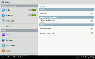 How To Customize Sound Settings On Samsung Galaxy Tab 2